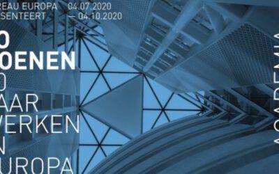 Expositie Jo Coenen in Bureau Europa in Maastricht