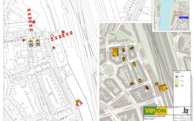 Werkzaamheden Hoek Parallelweg-Sint Antoniuslaan definitief maken afsluiting